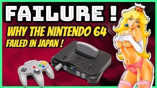 Why The Nintendo 64 Failed in Japan! - Retro Console History
