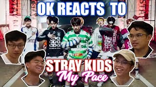 NON STRAY KIDS FANS REACT TO MY PACE OFFICIAL MV (OurKrew Reacts)