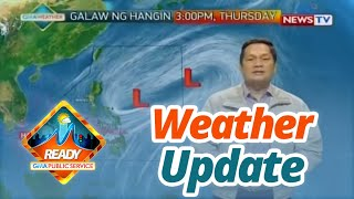 SONA Weather update as of 947 p.m. September 10, 2019