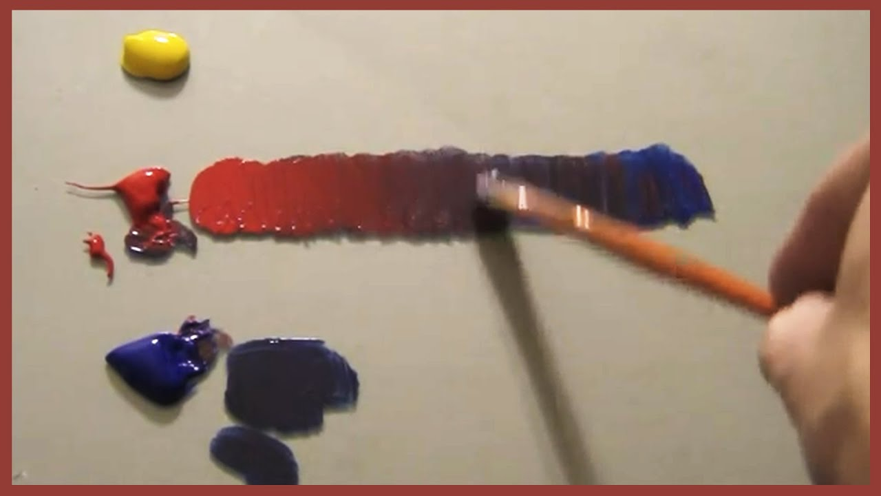 Mixing Acrylic Paint Sand Color