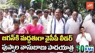 YCP Leader Puppala Vasubabu Participates in Sanghibhava Padayatra at Unguturu | YS Jagan