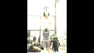 Sports Acro Inlocate High L sit press w Tari & David