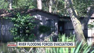 River flooding forces evacuations