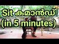 """How To Train Your Dog """" SIT"""" : Dog Training Videos :dog training:sit command Malayalam : laze media"""