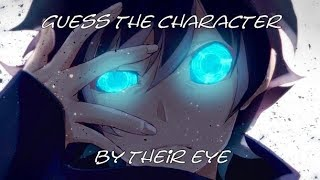 ?Guess the anime character by their eye?