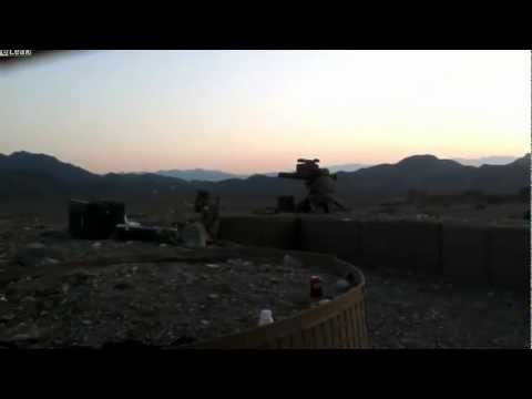 TOW Missile Launch in Afghanistan