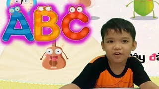 Cùng bé học chữ cái tiếng Việt với game ghép hình ABC video cho bé yêu