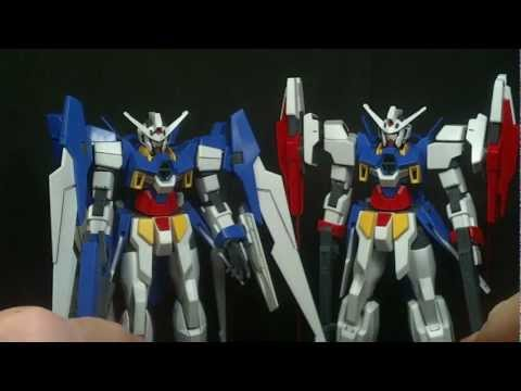 1/144 HG Gundam Age 2 Double Bullet Review