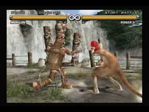 Tekken 5 - Mokujin video