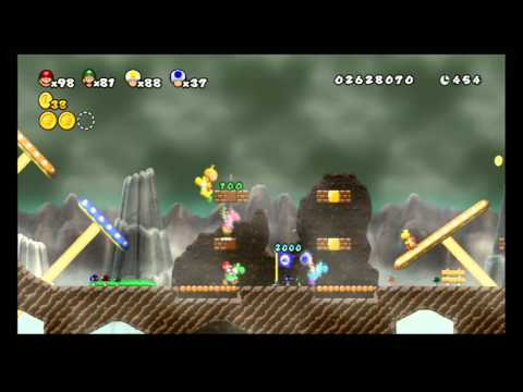 Newer Super Mario Bros. Wii - World 3 (2/2)