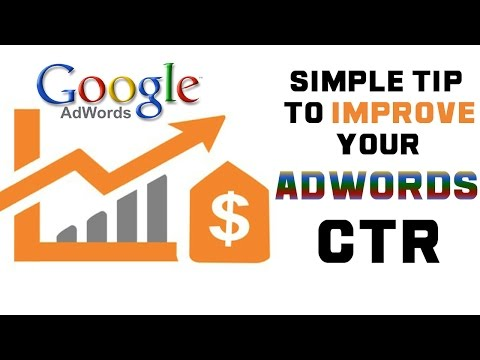 How To Get More Clicks ( High CTR ) in Google Adwords   Weekly Marketing Tips
