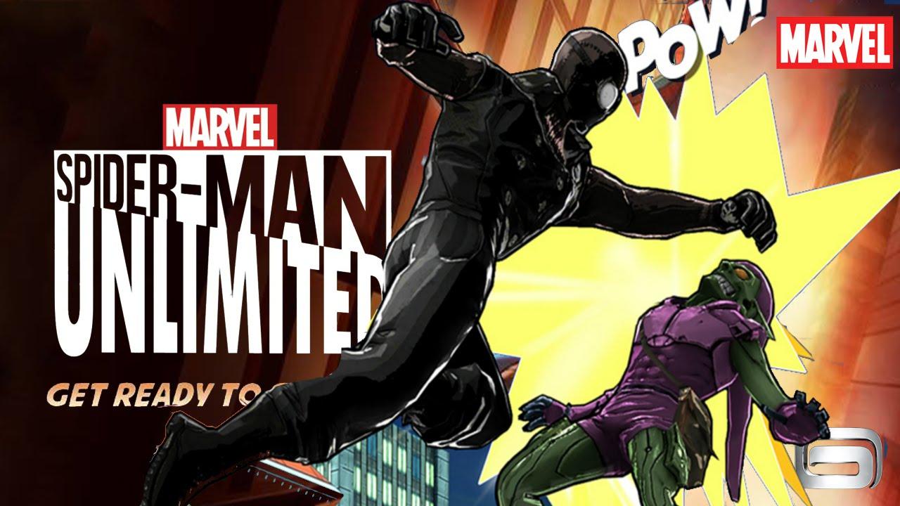 Spider-man Unlimited Ios