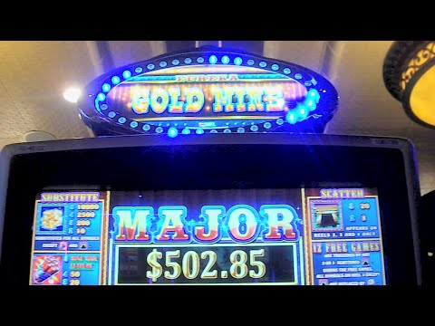 Eureka Gold Mine NEW SLOT MACHINE Bonus + Jackpot Feature Win