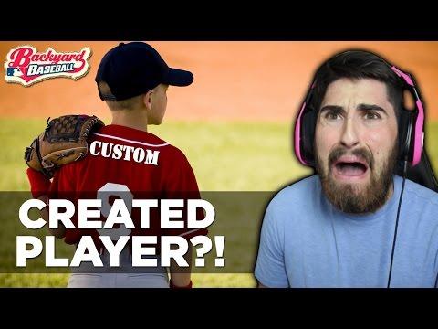 backyard baseball 2003 new created player w joey