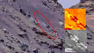 Skeleton Like Anomaly On Mars 2017