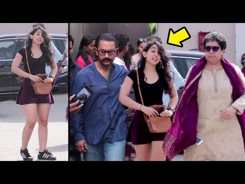 Aamir Khan Launches Gorgeous Daughter Ira Khan In Bollywood On Request From First Wife Reena Dutta thumbnail