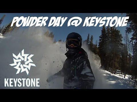 Powder Day @ Keystone Resort 2-19-16