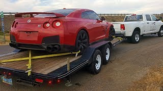 Totaled Nissan GT-R Rebuild - Part 1