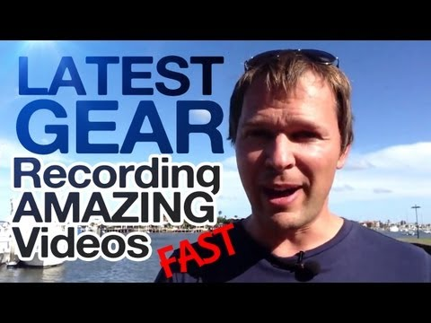 NEW! My Latest Gear For Recording AMAZING Videos FAST!