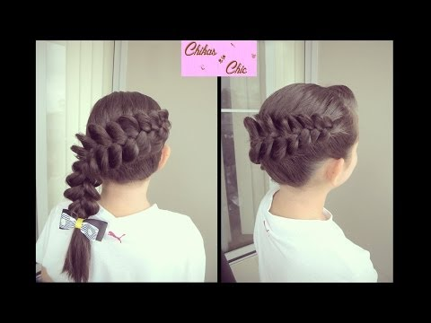 Trenza Diagonal Invertida Perfecta!! - Perfect Diagonal Dutch Braid!! (Tips!!)