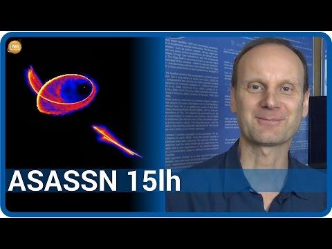 ASASSN 15lh - ein rotierendes Schwarzes Loch und ein kosmisches Silvesterfeuerwerk | Josef M. Gaßner