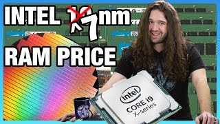 HW News - Intel 7nm EUV CPUs, Memory Prices Drop for 2019