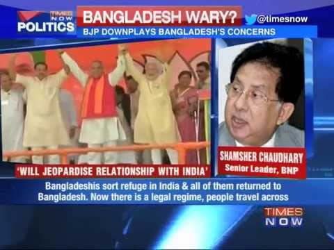 Bangladesh worried about Modi's comments?