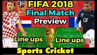 FIFA World Cup Final 2018 | FIFA World Cup 2018 Final Match Preview ,Lineups,venue