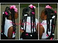 download lagu download musik download mp3 4 slick Ponytails With Braids | Using 1 pack Of Expression Hair