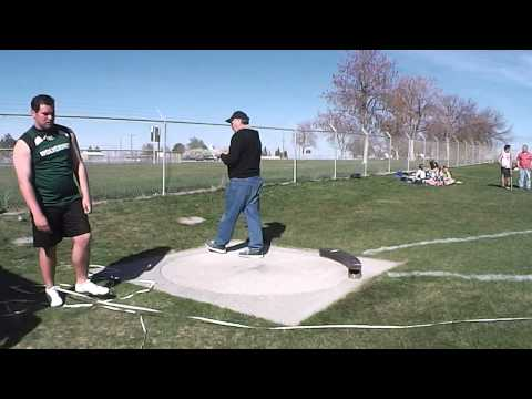 4-10-14 Taylor Douthit, Wood River High School SHOT PUT 39'3.5""