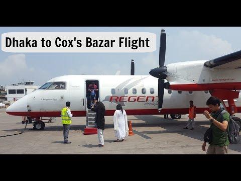 Dhaka to Cox's bazar flight