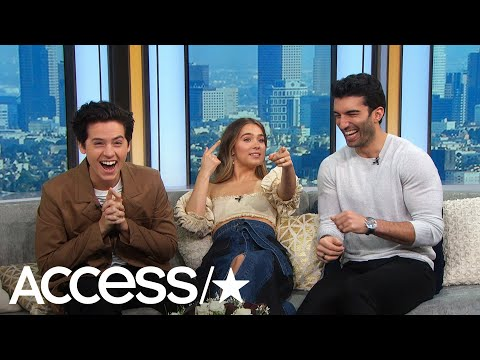Cole Sprouse & Haley Lu Richardson's Reaction To Justin Baldoni's Proposal Video Is Everything!