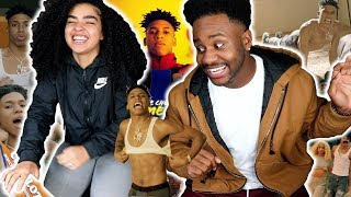 PROBABLY NLE CHOPPA BEST SONG!! | NLE Choppa - Camelot (Dir. by @_ColeBennett_) [REACTION]