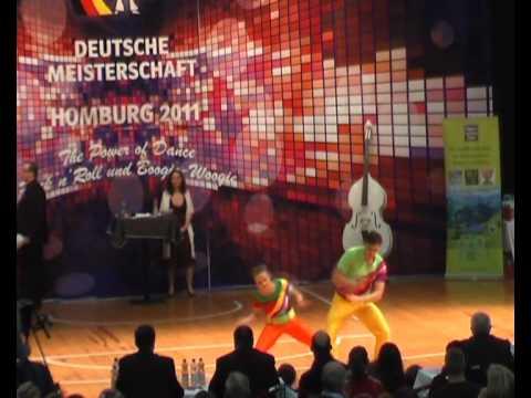 Christina Bischoff & Lukas Moos - Deutsche Meisterschaft 2011