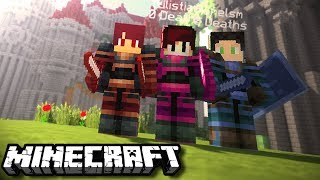 ISAN JADI KESATRIA !! ft. AFIF & RANEL | Adventure Map | Minecraft Indonesia