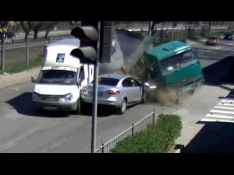 Car crash compilation 2015 - amazing accidents - accidentes automovilisticos