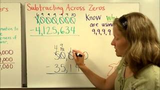 Add Subtract Large Numbers Part 2