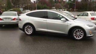 Tesla Model X Perpendicular Auto Park
