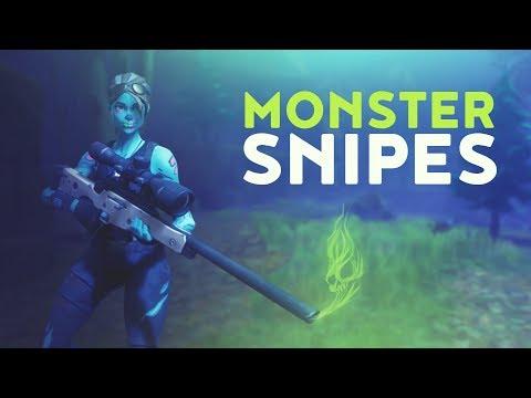 MONSTER SNIPES (Fortnite Battle Royale)