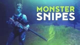 MONSTER SNIPES (Fortnite Battle Royale)