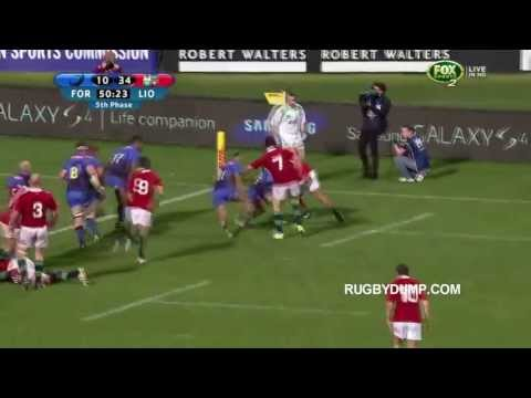 British and Irish Lions vs Western Force 2013 Highlights 69-17