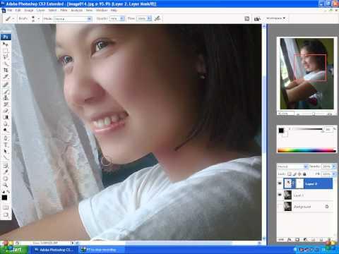 cara menghaluskan kulit wajah di photoshop
