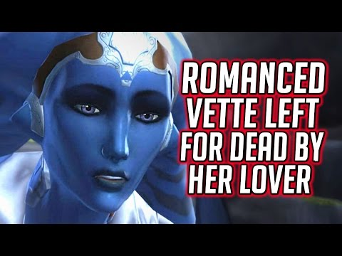 SWTOR KOTET ► Most Horrible Choice - Romanced Vette Left to Die by Her Lover, the Sith Warrior