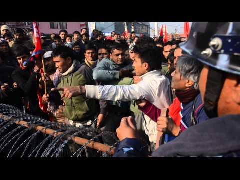 Maoist Nepal Banda, Hisila Yami Nepal Police Conflict