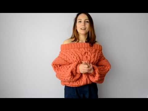 Очень подробный мастер класс на свитер рубан