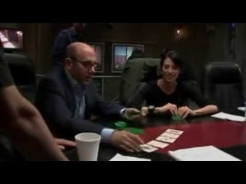 Claudia Black studies poker 2006 StarGate BTS