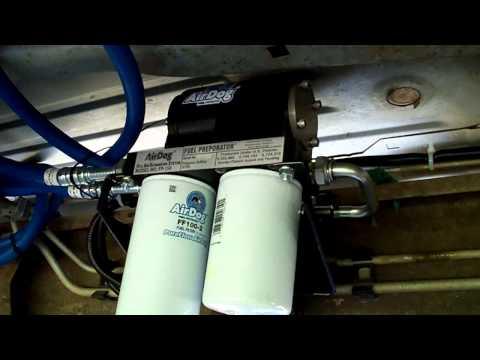 installing a Airdog 150 on a chevy duramax LB7