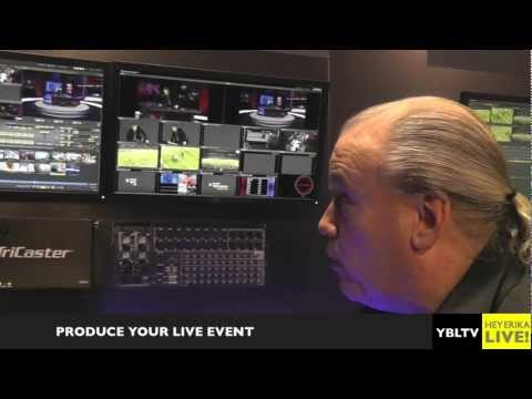 Create Your Own TV Show with Newtek Portable LIVE Production