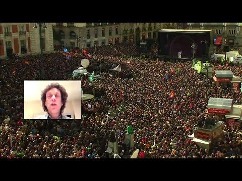 Desde Madrid Pedro Brieger analiza la multitudinaria marcha de Podemos en España