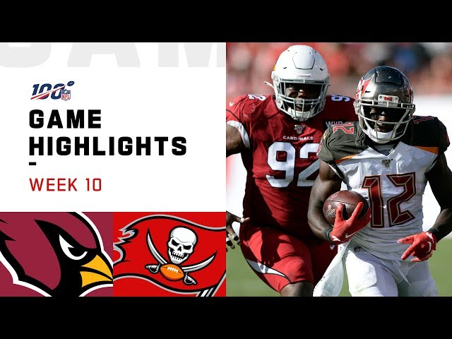 Cardinals vs. Buccaneers Week 10 Highlights  NFL 2019